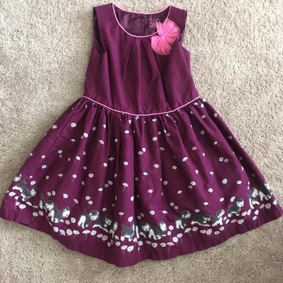 b02581f4b Shy Little Kitten Girls Dress. M_5b02fae9a6e3ea60417364fb